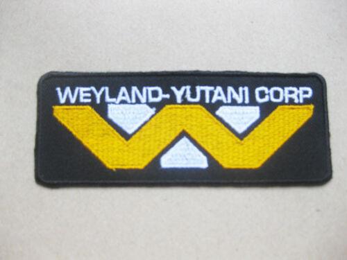 Alien Aliens Weyland Yutani Corp Uniform Aufnäher Aufbügler 4x10 cm
