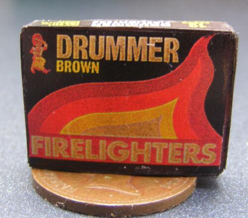 1:12 Scale baterista Encendedor Fire Paquete de muñecas en miniatura Cocina Accesorio