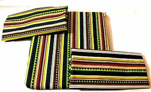 1 X 100% Cotton Tissu Feuille Lit Avec Simple Double + Taie D'oreiller Vendeur Haute SéCurité