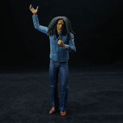 Bob Marley Figure Music Legends Jamaica Singer PVC Action Figure Model Toy 17cm