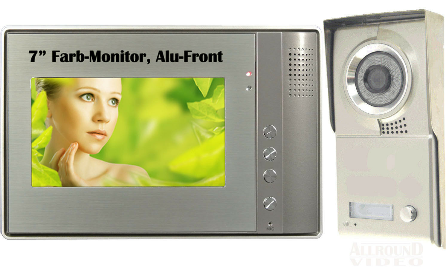 Vidéo Doorbell Intercom Türsprechanlage 1 famille 7  TFT Moniteur Interphone
