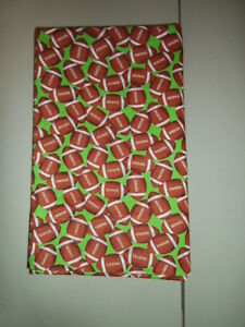 Image Is Loading 1 Footballs KinderMat Rest Mat Cover Pillowcase For
