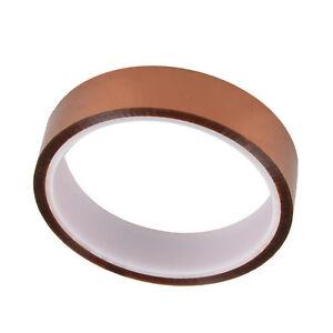 20mm 2cm X 30M 100ft Kapton Tape High Temperature Heat Resistant Polyimide CA