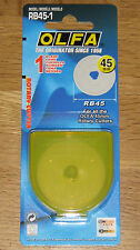 Olfa RB45 45mm Rotary Cutter Spare Blade - ( fits RTY-2/G and RTY-2/DX )