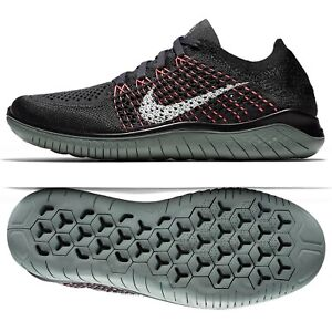 huge selection of ad535 ebf3e Details about Nike WMNS Free RN Flyknit 2018 Gridiron/Black 942839-004  Women's Running Shoes