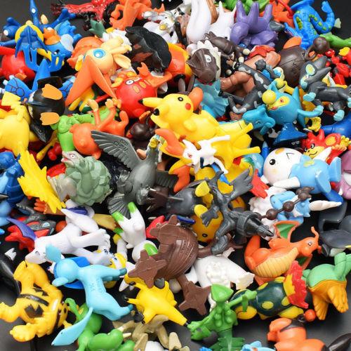 24-144pcs/set Pokemon Toy Set Mini Action Figures Pokémon Go Monster Gift LOT