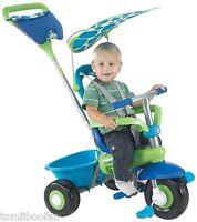Smart-trike Fresh 3-in-1 Tricycle, Green & Bluebrand