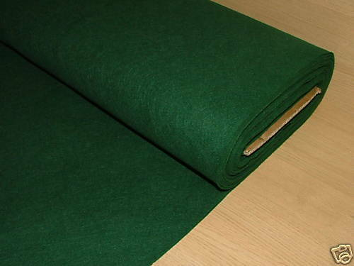 2 Yrd Green Baize   Felt  Card Poker Table Fabric Craft
