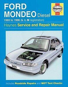 haynes owners workshop car manual ford mondeo diesel 1993 1996 l rh ebay co uk New Ford Galaxy Car New Ford Galaxy Car