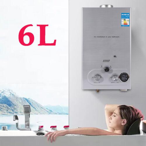 12KW Natural Gas Durchlauferhitzer 6L Brauchwasserspeicher Wandmontage