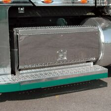 """Freightliner Coronado Stainless Steel Front Cover for Battery Tool Box - 36"""""""