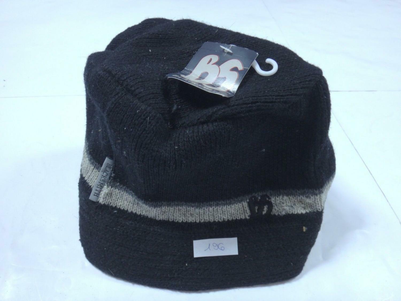 00196 Mens Hat Winter Hat Blacksmith size L black (2)