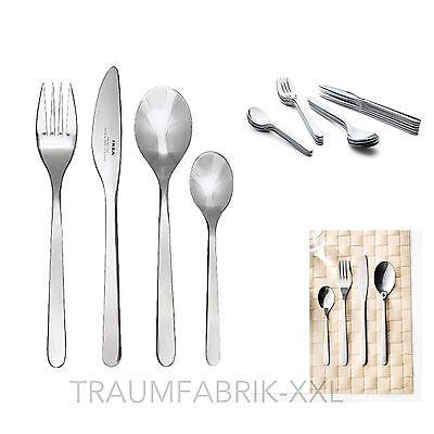 24-tlg IKEA Besteck Besteckset Menübesteck Besteck-Set Essbesteck Edelstahl NEU