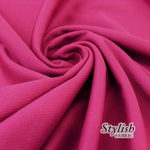 Style 2001 Polyester Dimple Sports Mesh Fabric by the Yard