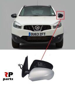 Para-Nissan-Qashqai-2007-2014-nueva-ala-espejo-electrico-climatizada-purgada-7-Pin-izquierda