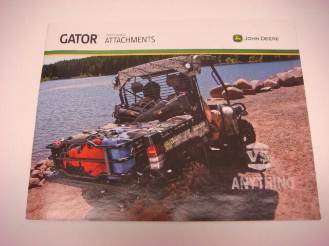 """John Deere 2014 /""""Gator XUV Series/"""" Catalog Brochure Leaflet"""