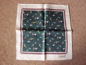 Tintin-Handkerchief-The-Crab-with-the-Golden-Claws-green-by-Cititime-100-Silk