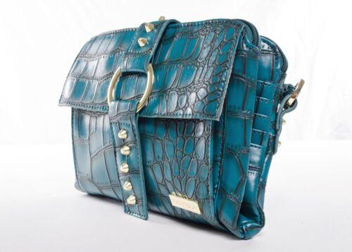 Pouchee/'s Safari in  Croco New Small Crossbody Bag