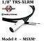 thumbnail 3 - Conquest Sound Microphone Cable 1/8 inch to XLR 3ft 6ft 10ft 15ft 20ft 25ft