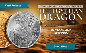 COPPER ROUNDS WORLD OF DRAGONS COMPLETE BU SET of 6-1 Oz.SILVER /& 6-1 Oz CASE