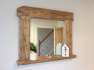 wood frame bathroom mirror beautiful quality handmade rustic style wooden mirror 21698