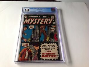 JOURNEY-INTO-MYSTERY-79-CGC-6-0-MIDNIGHT-MONSTER-STEVE-DITKO-KIRBY-MARVEL-COMICS