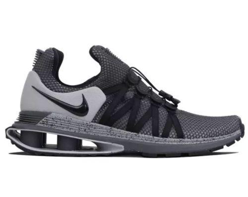 Nike Mens Shox Gravity Trainer Running shoes Black Grey  AR1999-011 MSRP  150