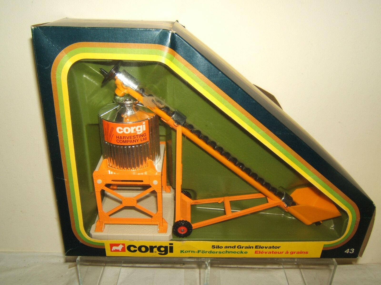 CORGI TOYS MODEL GS.43  SILO & GRAIN ELEVATOR       VN MIB
