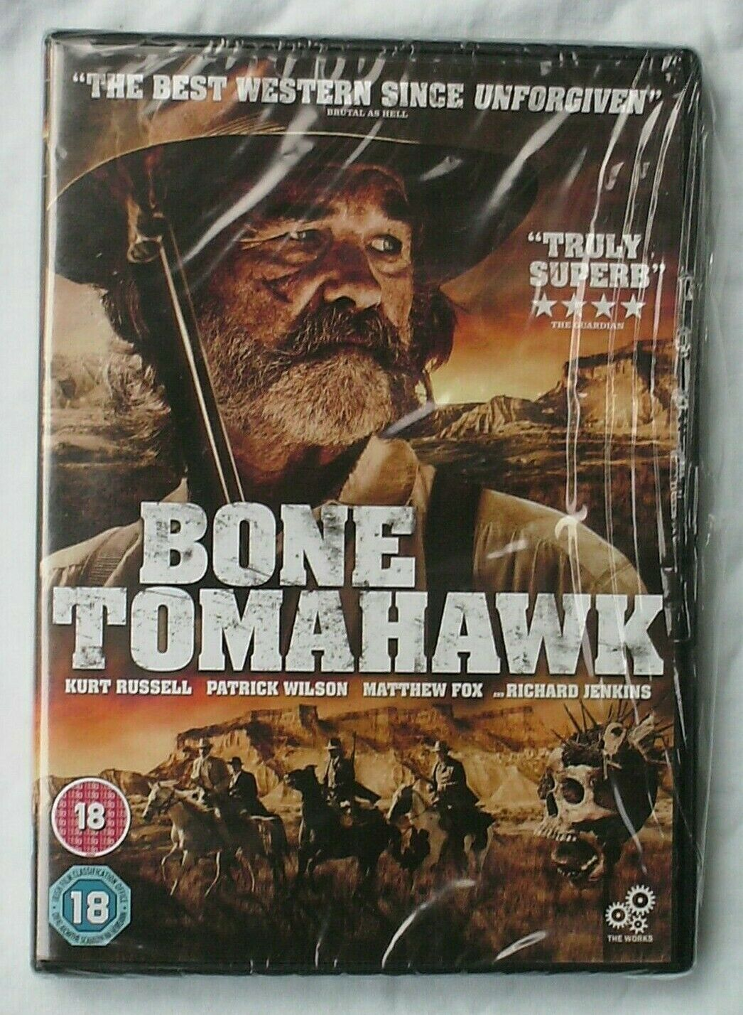 Bone Tomahawk Dvd Kurt Russell 2016 Cannibal Western Film For Sale Online Ebay