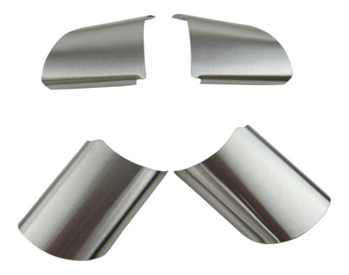 Real Aluminum Steering Cover Blinds Clip IN 4tlg Set For Ford Focus 2 II MK2