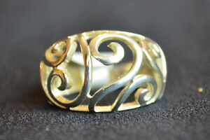 925-sterling-silver-fancy-filigree-ring-size-P-brand-new-reduced-sale-price
