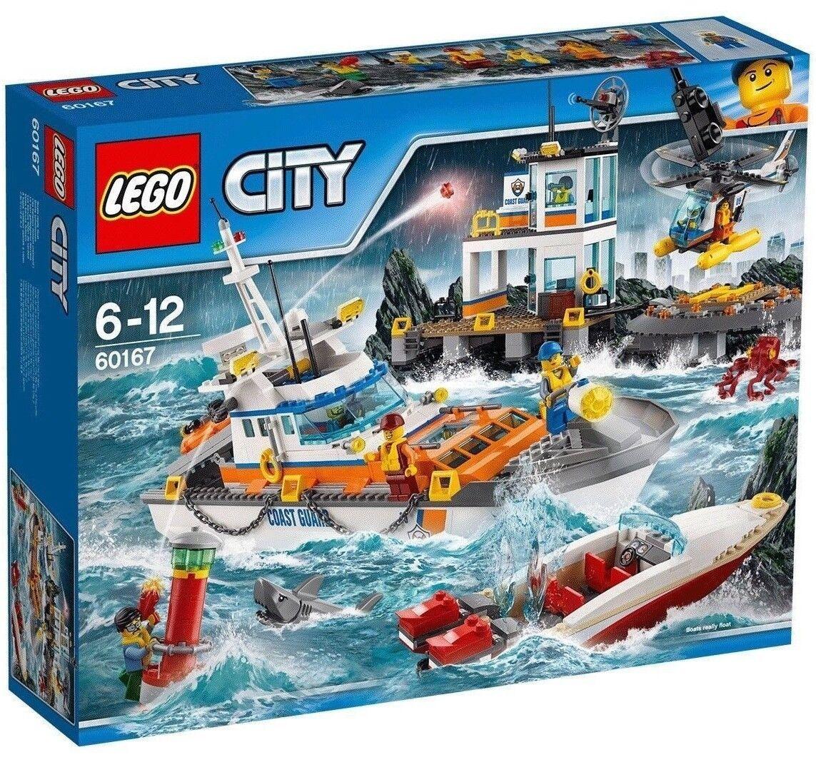 LEGO CITY Guardia Costiera Testa quarti-modello 60167  6-12 anni