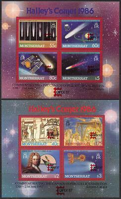 10522 Keine Rücknahme Privatverkauf Montserrat Block 44+45 Capex ** Umtausc Hohe Belastbarkeit