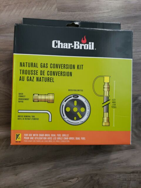 Natural Gas Conversion Kit Char Broil Dual Fuel Compatible 4984619 For Sale Online Ebay