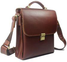 High Class Men Italian Real Leather Shoulder Bag Messenger Briefcase /i PAD case