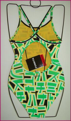 FUNKITA LADIES Sz 8 or 10 Swimwear TOGS Chlorine Resistant WASABI BATHERS NEW q