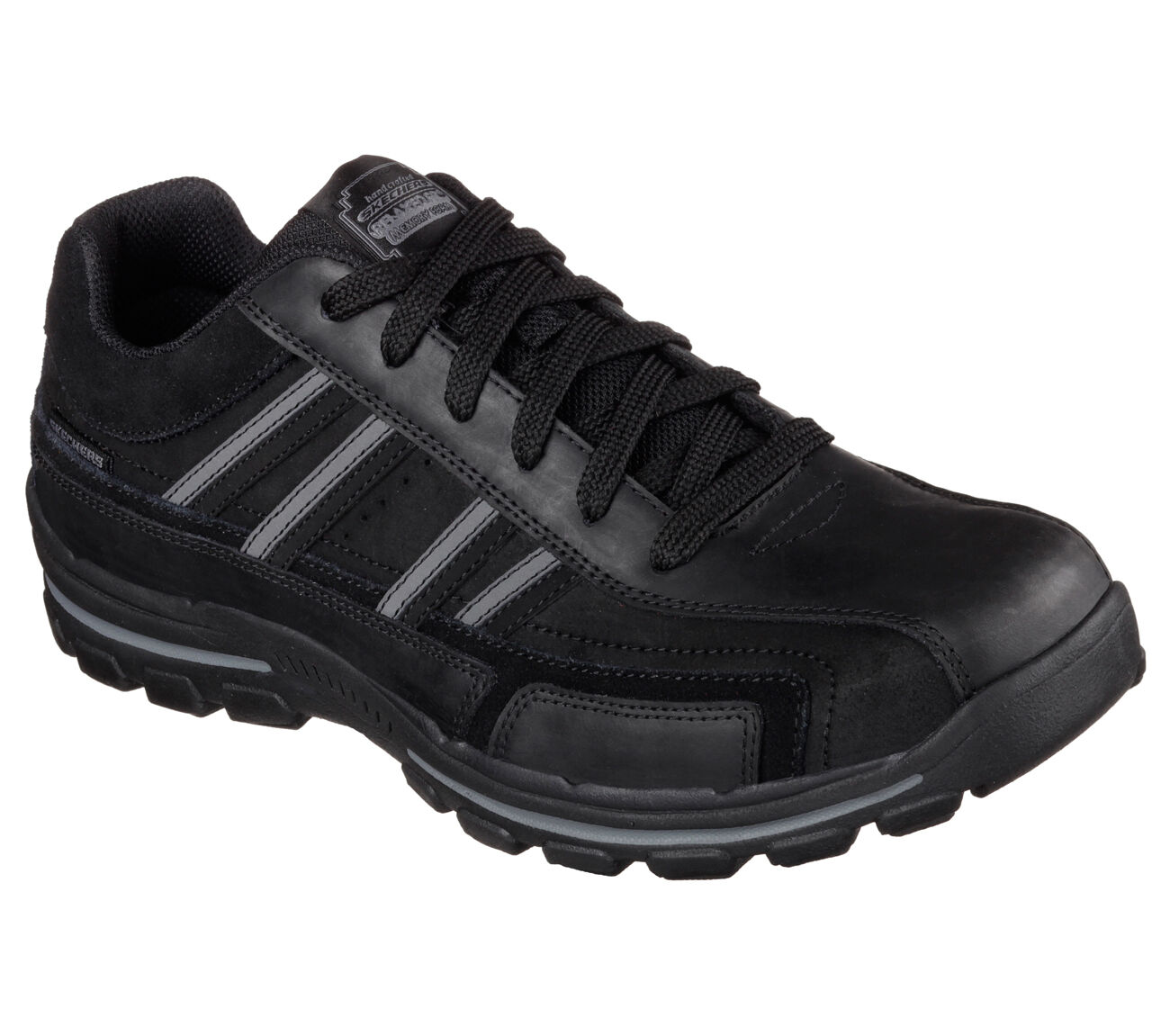 Men's SKECHERS RELAXED FIT  Braver- Gonsor Casual shoes, 64624 BLK Multipl Sizes
