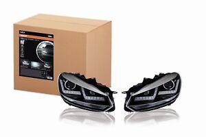 Scheinwerfer-LEDriving-Xenarc-CHROME-Golf-VI-Tagfahrlicht-D8S-Xenon-2St-Osram