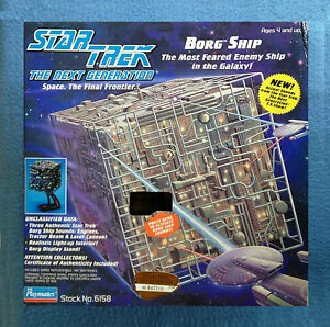 star trek borg ship playmates 1993 the next generation sound works