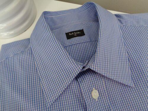 taglia Ps Camicia Paul Smith Blue Cotton formale Gents Check S Bnwt 4dq1zfxwz