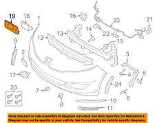 Front Bumper Grille Grill-License Bracket Mount Panel SU00301541