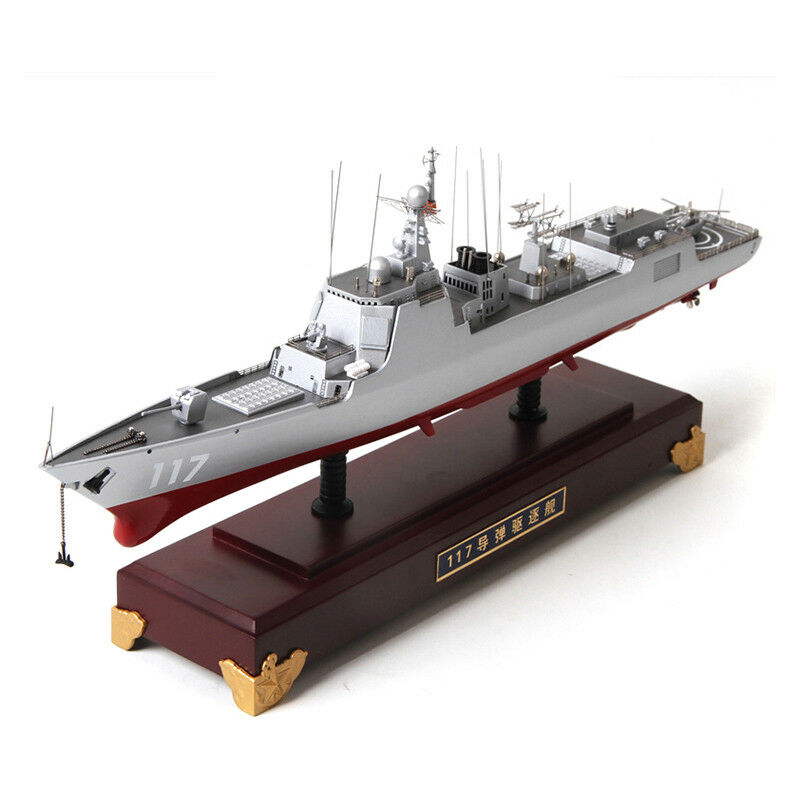 1 400 Xining 117 Type 052D Destroyer Luyang III-class Warship Alloy Model