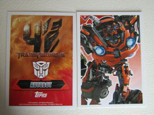 e12 Topps 2014 Transformers Cards Card Variants