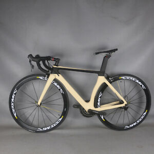 NEW Aero Road bike carbon frame bicycle R7000 Groupset complete bike 475C TT-X2