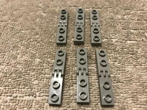 GROUPS OF LEGO 4275//4276//2452//2433//4507 HINGE PLATES TILES BARS WITH 2//3 FINGERS