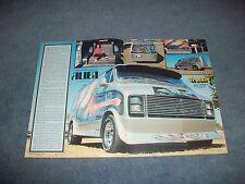 "1977 Dodge Tradesman Vintage Custom Van Article ""Alien"""