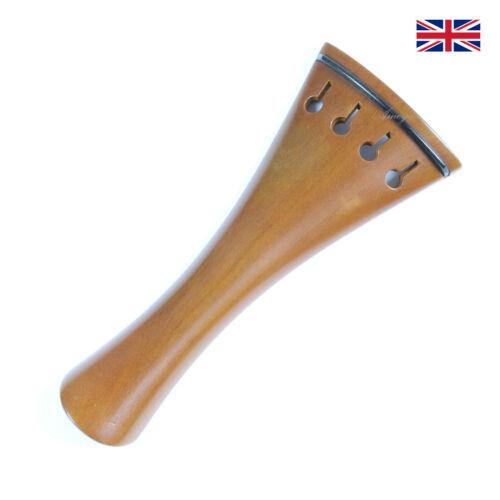 French Model with Ebony Trim 10.8cm Finest Quality Boxwood Violin Tailpiece