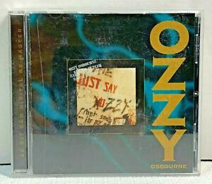 CD-Just-Say-Ozzy-by-Ozzy-Osbourne-1995-Remastered-Collectors-Edition