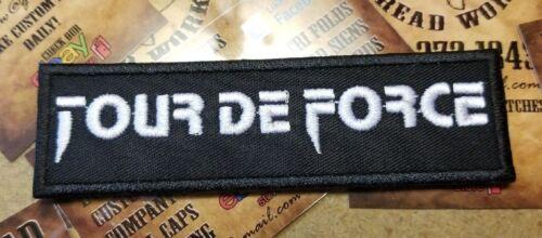 Tour De Force patch