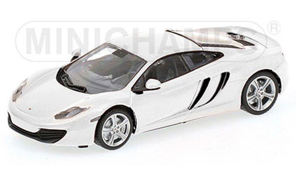 MINICHAMPS 530 133021 McLaren MP4-12C model car white 2011 Ltd 1 43rd scale